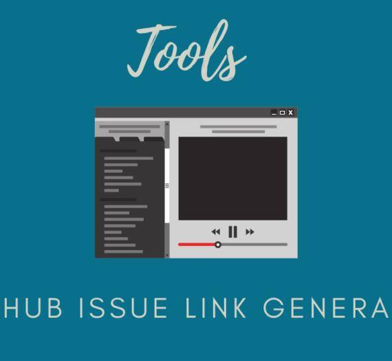 GitHub Issue Link Generator